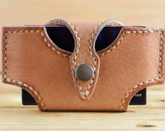 Leather business card holder, cases for cards, visitor cards, cases for business cards