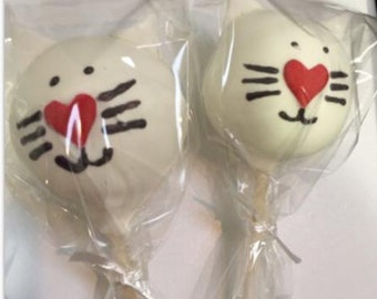 Cat Cake Pops *Any Color*