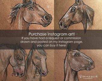 Instagram Illustration Purchase
