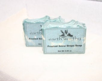 Frosted Snow Drops Soap