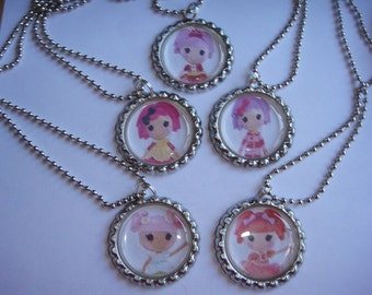 Lalaloopsy Necklaces Set of 5