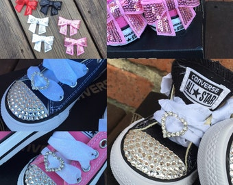 Typical Princess Converse Bling infant/toddler shoes
