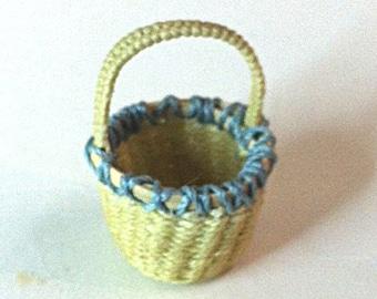 OOAK hand-woven basket