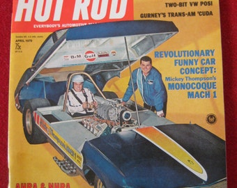 Hot Rod Magazine April 1970