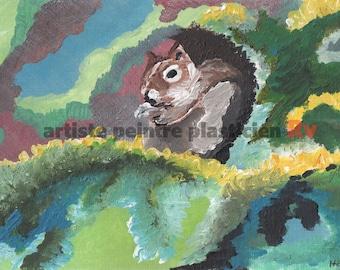 Strolls of squirrel