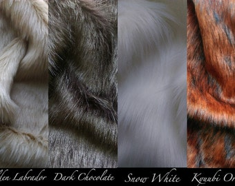 "Realistic 15"" Faux Fur Dog Tail [Available in a variety of colours!]"