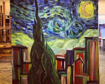 "Modern Take of famous Van Gough ""Stary Night"""
