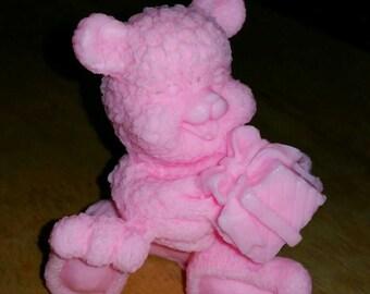 3d bear soap