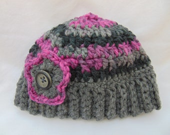 Childs Crocheted Hat