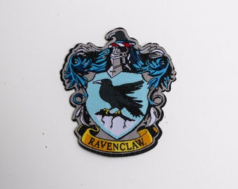 Harry Potter Hogwarts House Ravenclaw patch - iron-on 3 inch patch