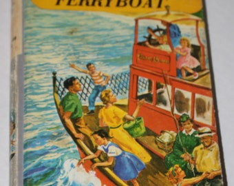 The Bobbsey Twins Own Little Ferryboat by Laura Lee Hope 1956