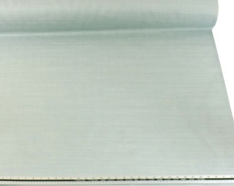 Woven Duck Egg Blue Fabric Material Sold by the Metre
