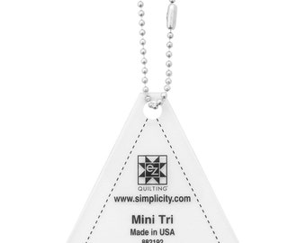 Mini Tri with Key Chain Acrylic Template
