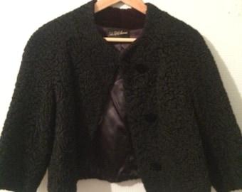 Vintage Saks 5th Avenue Evening Coat