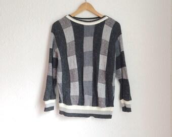 Patchwork Vintage Sweater