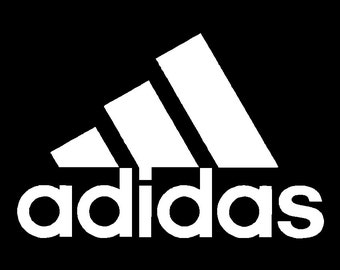 Adidas Vinyl Decal Car Truck Window Sticker Laptop Graphic Different Sizes and Colors