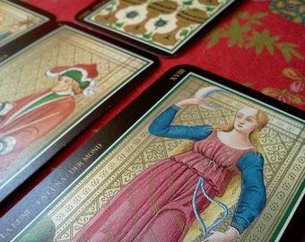 Historic Visconti-Sforza Tarot Reading