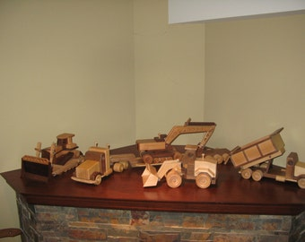 Wood Construction Toys