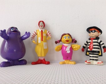 McDonalds happy meal set