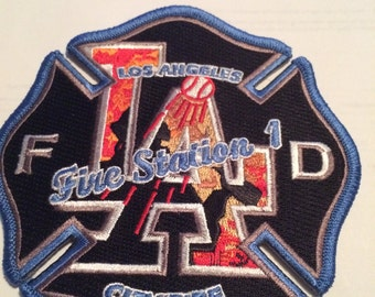Los Angeles Fire station 1 patch