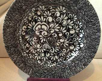 One of a kind handmade plate for your valentine!