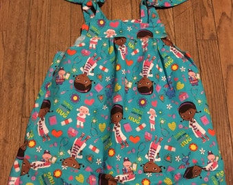 Doc McStuffins summer dress 4t/5t