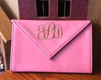 Monogrammed pocket size notepad