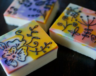 Vegan Soap, All Natural Soap, Handmade Soap, Cold Process Soap