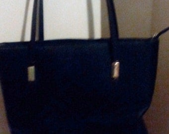 Vintage Black Tote Bag