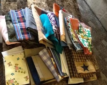 Destash fabric scraps