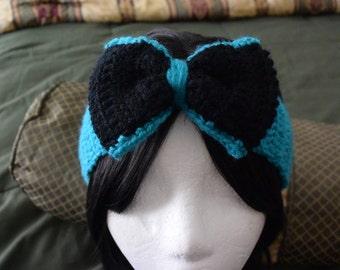 Turquoise Blue Women Earwarmer