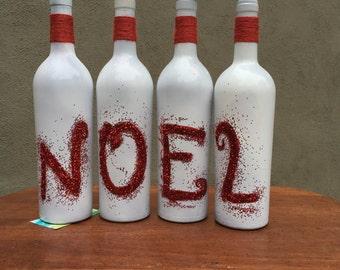 Noel Wine Bottles