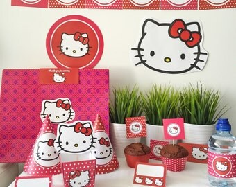 Hello Kitty Printable Birthday Party - Hello Kitty Birthday Party - Hello Kitty Party