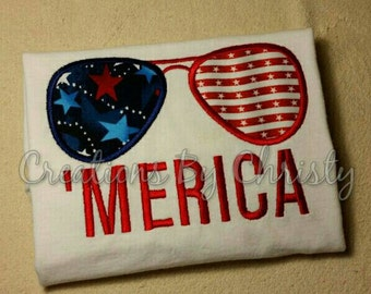 Patriotic Sunglasses 'Merica