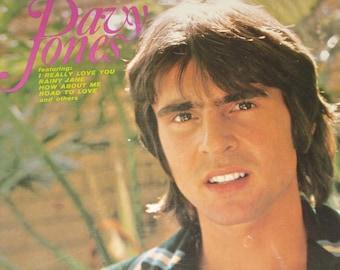 SEALED Davy Jones vinyl record, Davy Jones record album, vintage vinyl record