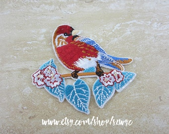 BIRD Iron or Sew On Patch