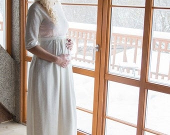 "Maternity wedding dress ""White"""