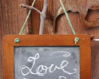 Rustic Wood Chalkboard, Framed Chalkboard, Hanging Chalkboard, Rustic Wedding Chalkboard, Rustic Blackboard, Chalkboard Sign, Rustic Decor