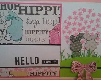 hippity hop bunny cards