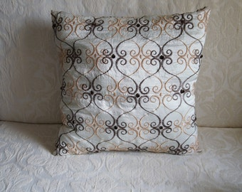 Decorative pillow cover,  Throw pillow cover
