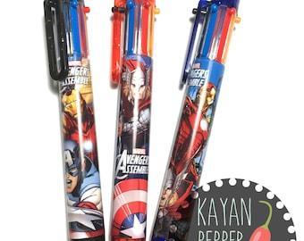 Marvel Avengers Multi Color Ball Pen