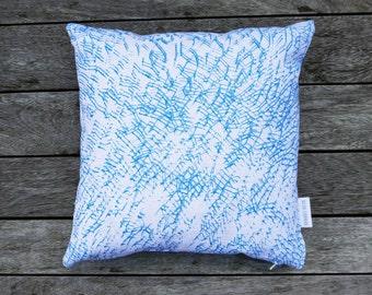 Hand Screen Printed Cushion 'Marks'