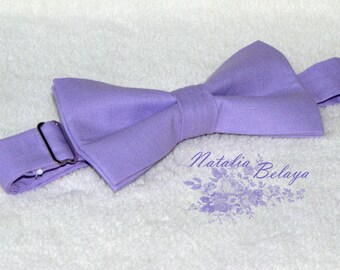 Bowtie. Pre-tie Bow tie. Purple Bow tie. Bow tie for men and boy. Gift for men and boy.  Baby boy gift. Birthday gift. Baby shower gift.