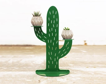 Cactus Plant Stand Small