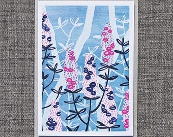 Greeting Cards / Banksia #4 Card, Australiana, Wildflowers, Souvenirs