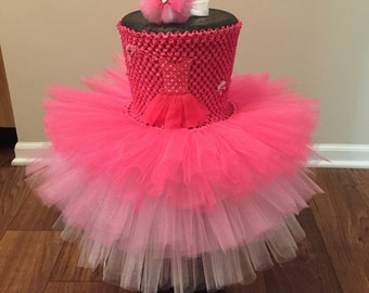 Ballerina tutu dress with headband