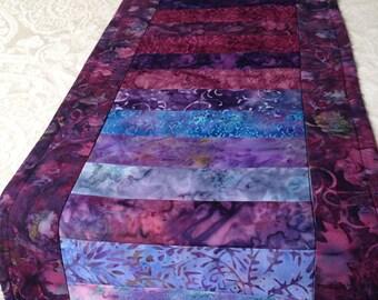 Batik table runner