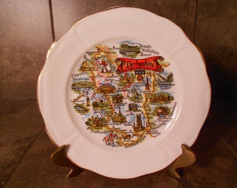 Derbyshire and the Peak Collectible Plate