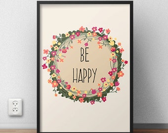 Printable Wall Decor Poster Wall Art Quote Wall Art Inspirational Quote Inspirational Poster Motivational Print Typography Art