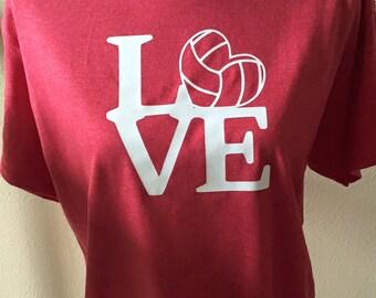 Love volleyball shirt